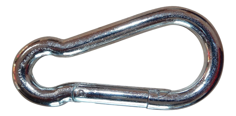 Karabinerhaken Karabiner mit Schnapphaken 20er Pack 7 mm x 70 mm