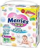 花王 Merries 纸尿裤 学步裤S(4~8kg) 瞬爽透气 62片