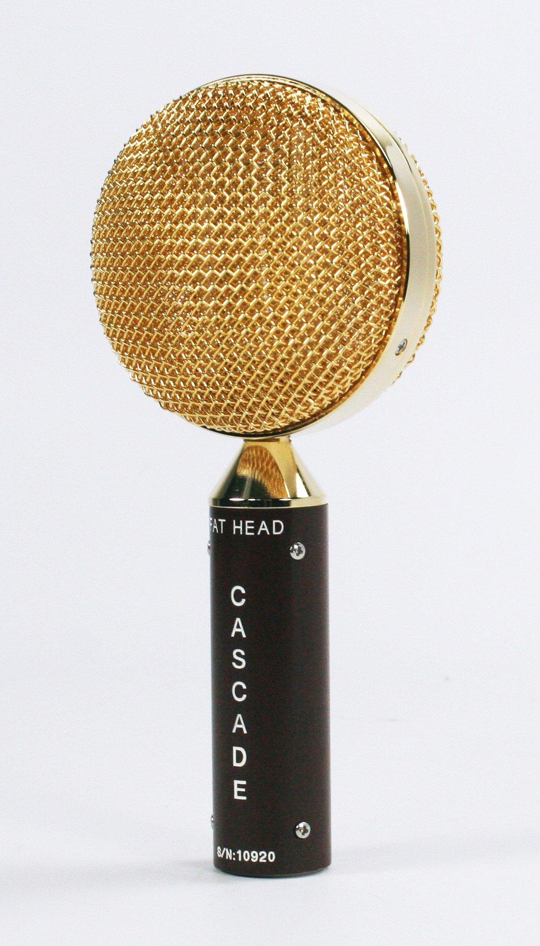 Cascade Microphones 98-G-A FAT HEAD Ribbon Microphone, Brown Body/Gold Grill by Cascade Microphones (Image #2)