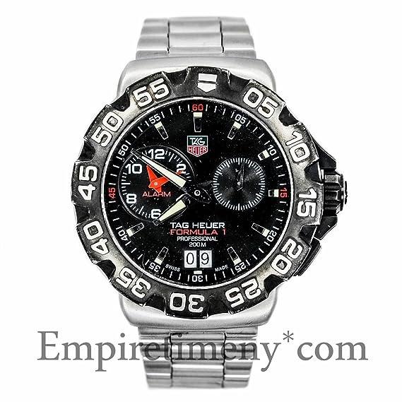 TAG Heuer Formula 1 Cuarzo Mens Reloj wah111 a. BT0714 (Certificado) de segunda