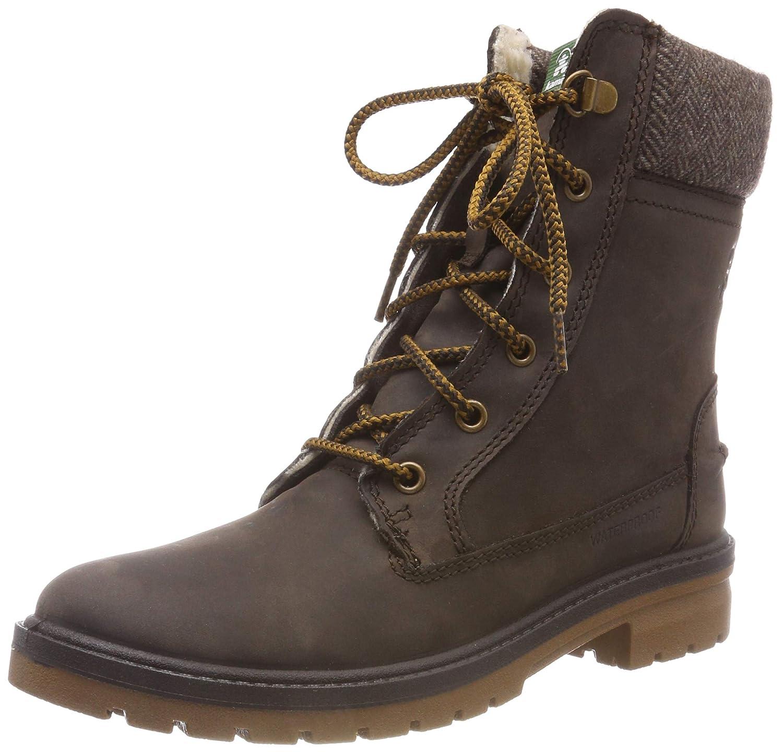 Dark Brown Kamik Women's Rogue Waterproof Winter Boot