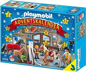 Pferde Weihnachtskalender.Playmobil 4159 Adventskalender Reiterhof