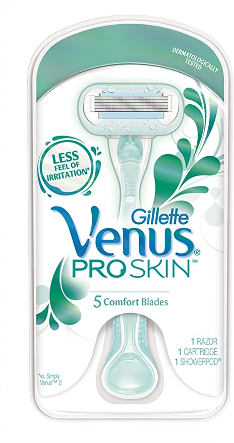 Gillette Venus Proskin Sensitive Maquina Depilatora Maquinilla de ...