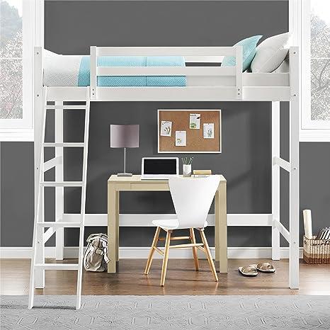 Dorel Living Wood Loft Style Bunk Bed Twin