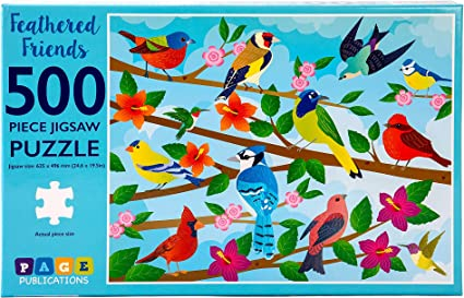 Large Puzzle Game for Adults,Educational Fun Jigsaw Toys for Kids Jigsaw Puzzles for Adults 1000 Piece Birds Jigsaw Puzzle