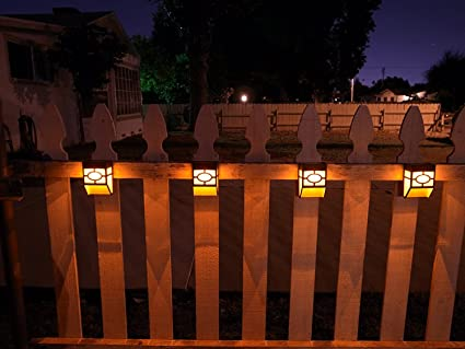 Upgrade solar powered wall mount lights landscape garden yard upgrade solar powered wall mount lights landscape garden yard fence outdoor warm lights 8pc mozeypictures Gallery
