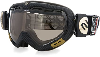 ff2a54d2948 Zeal Optics SPPX Dominator Snow Goggle with Spherical Polarized and  Photochromic Lens (Yellow Rose
