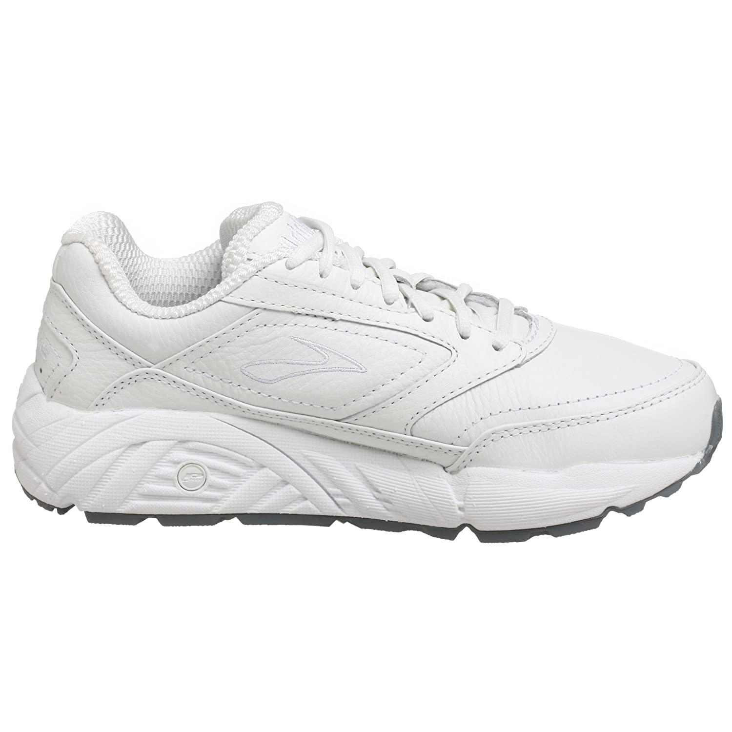 Brooks Women's Addiction Walker Walking Shoes B0012HT9A2 9 D|White
