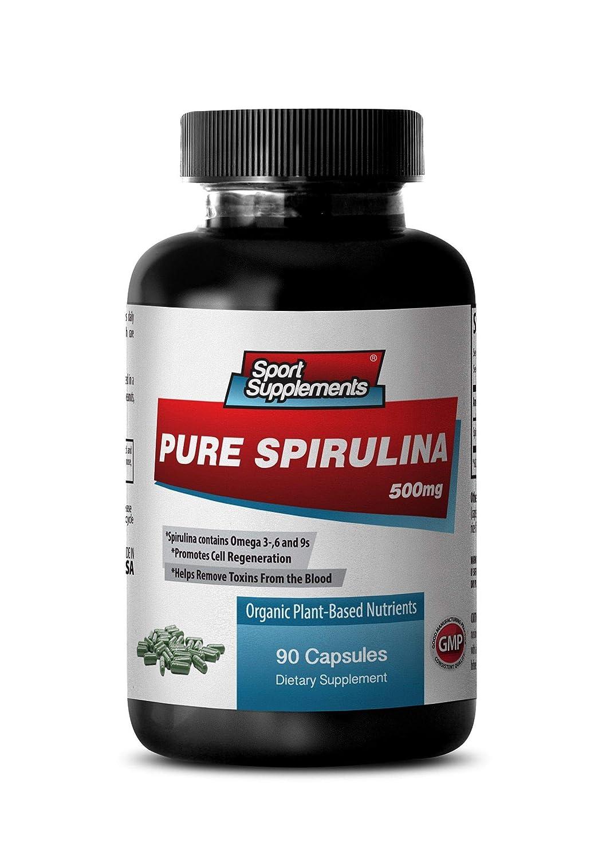 Amazon.com: Chlorella and Spirulina Pills - Pure Spirulina 500mg ...