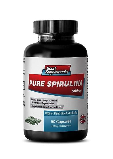 Spirulina Superfood - Pure Spirulina 500mg - Increase Energy, Improve Immune System, Vitality and