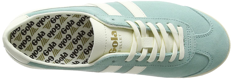 Gola Women's Bullet Suede Fashion Sneaker B01M5G59KK 8 B(M) US|Paste Mint/Off-white