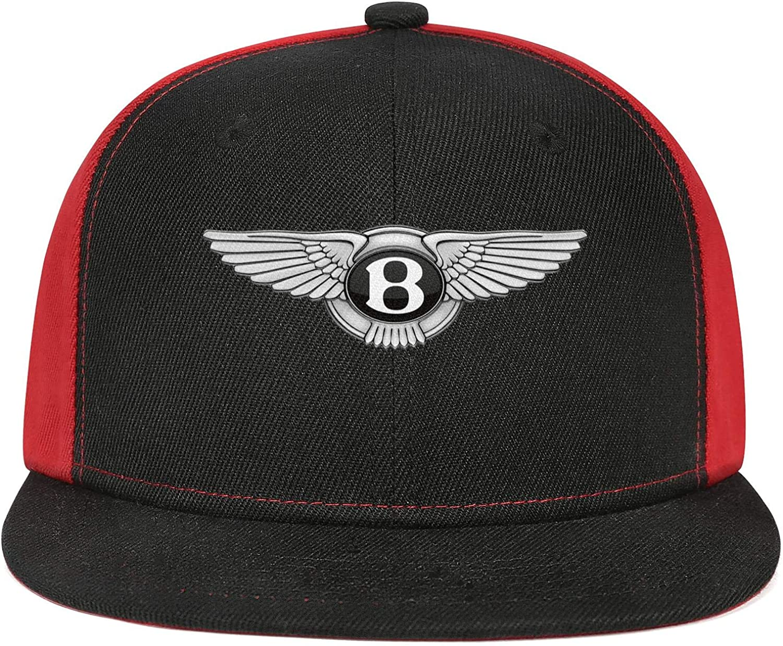 Baseball Cap Popular Hip Hop Caps Sport Hat Cool Snapback Hat Mens Trucker Hats sdfjkoinj Man Mens Bentley-Logo