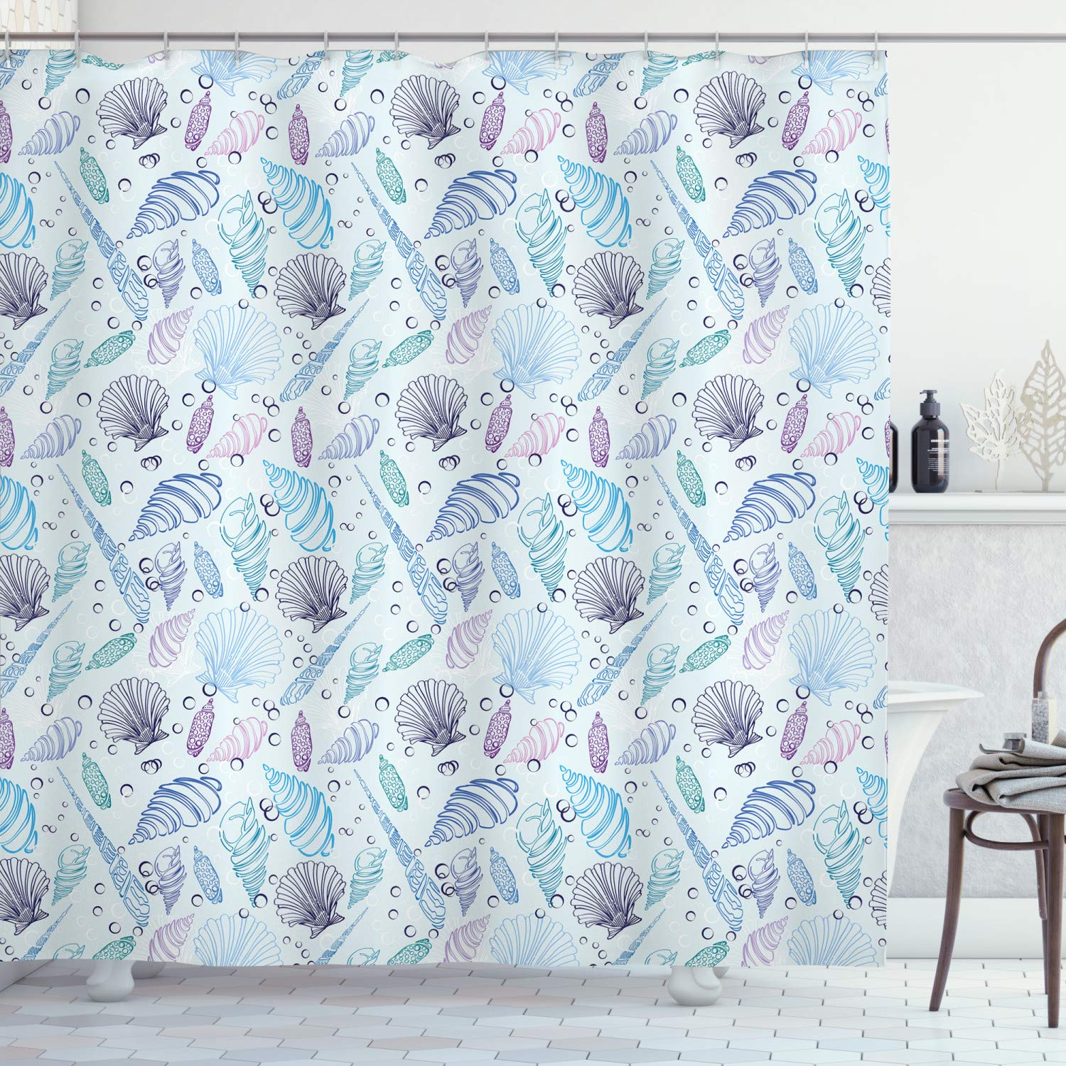 Sketch of 2 Sportsman Fencing Duel Agility Attack Discipline Sports Hobby Ambesonne Sports Shower Curtain 75 Long Cloth Fabric Bathroom Decor Set with Hooks Violet Blue