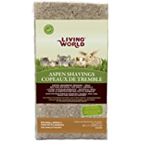 Living World Aspen Shavings - 20 L (1200 cu in)
