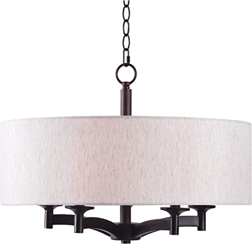 Kenroy Home 93637ORB Rutherford 5 Light Pendant