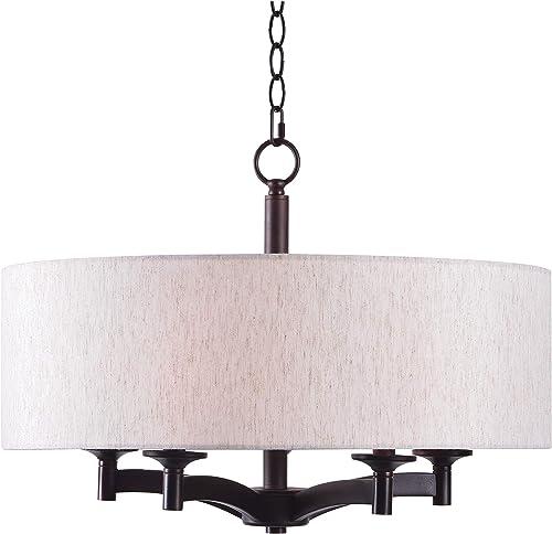 Kenroy Home 93637ORB Rutherford 5 Light Pendant