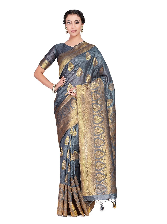 Kanchipuram Silk Saree With Blouse Piece
