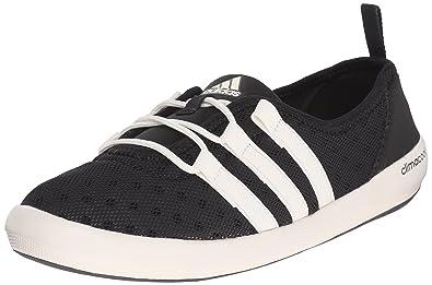 Mujeres Adidas Outdoor ClimaCool Boat Sleek Water zapatos , negro / tiza