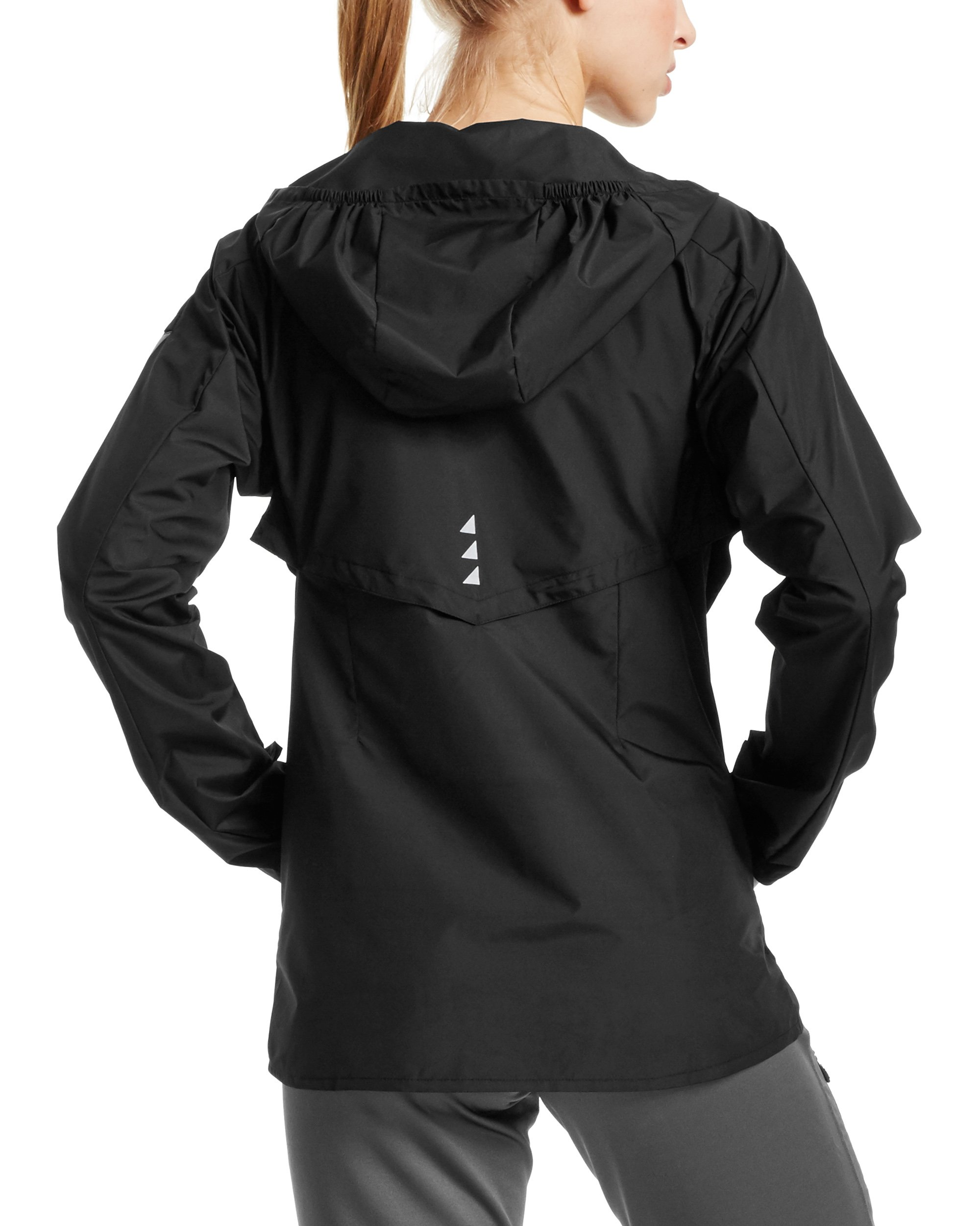 Mission Women's VaporActive Barometer Running Jacket, Moonless Night, Large by MISSION (Image #2)