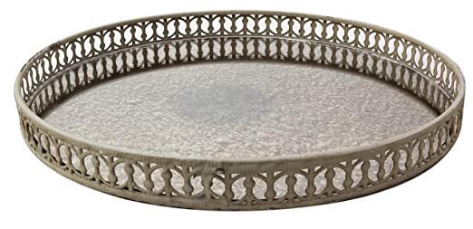 Amazon.com: Shabby Chic Vintage Vanity Mirror Tray with Ornate Borders -  Set of 3: Home & Kitchen - Amazon.com: Shabby Chic Vintage Vanity Mirror Tray With Ornate