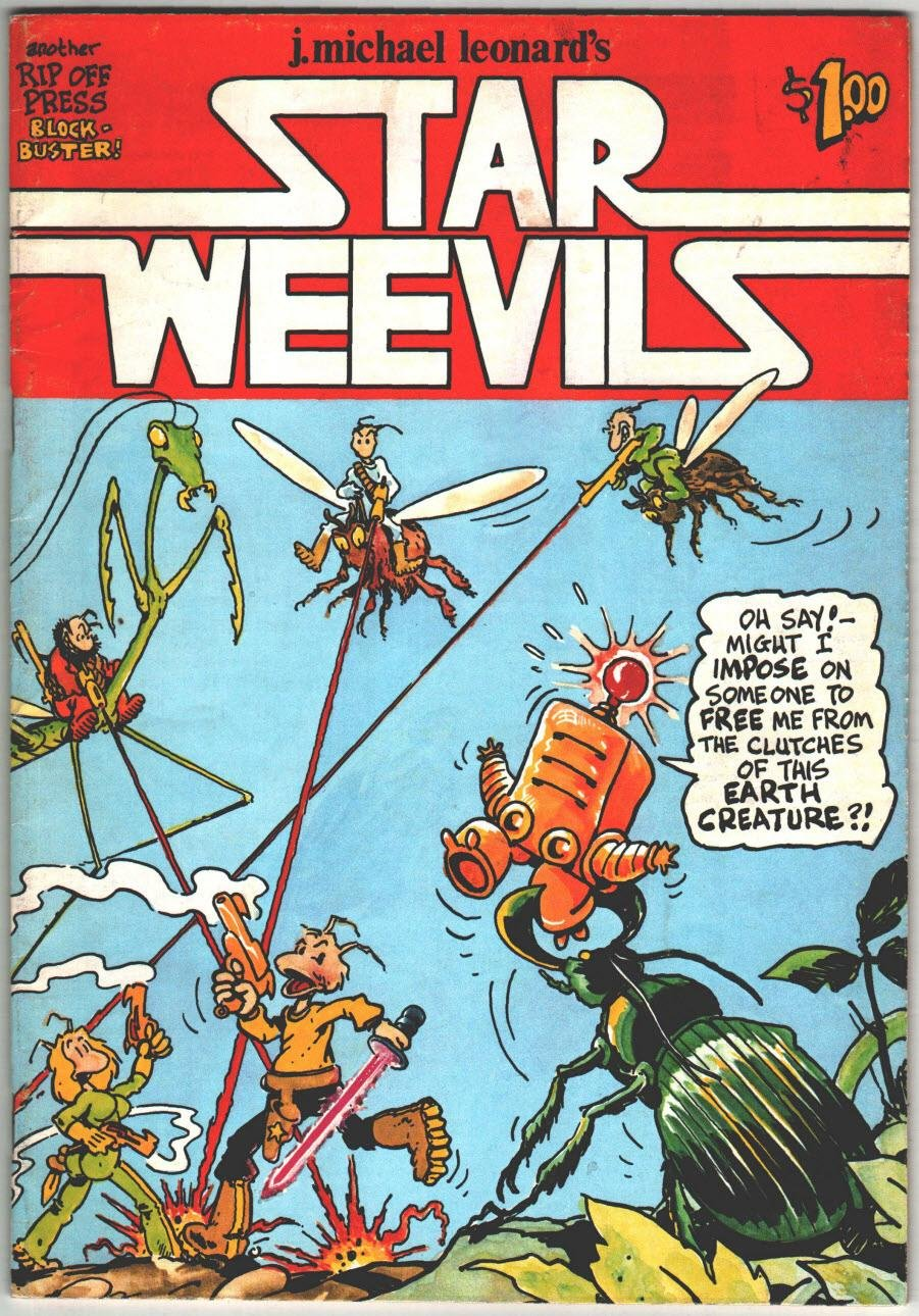 J. Michael Leonard's Star Weevils, The Staff of Rip Off Press