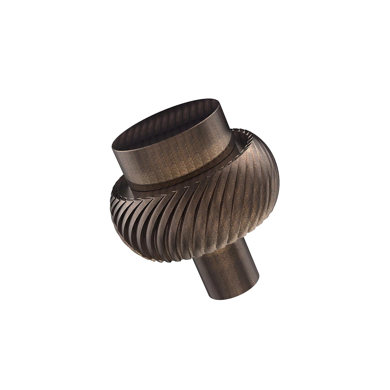 Allied Brass 101T-VB 1-1//2 Inch Cabinet Knob Venetian Bronze