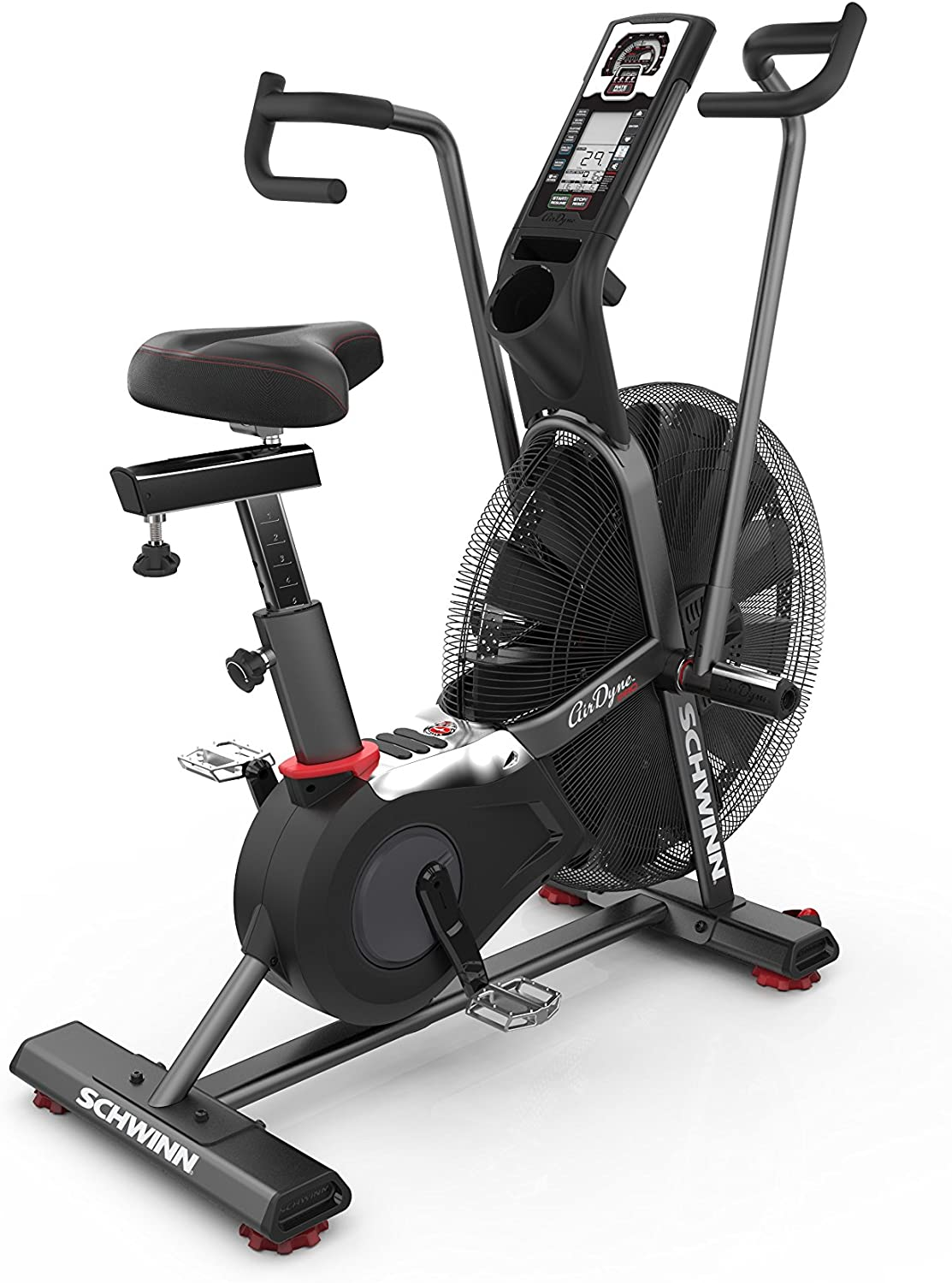 SCHWINN AIRDYNE PRO EXERCISE BIKE- Best Exercise Bikes With Upto 500lbs Weight Capacity