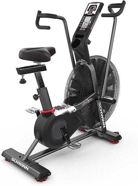 Bicicleta estática Schwinn Airdyne Pro, color plateado: Amazon.es ...