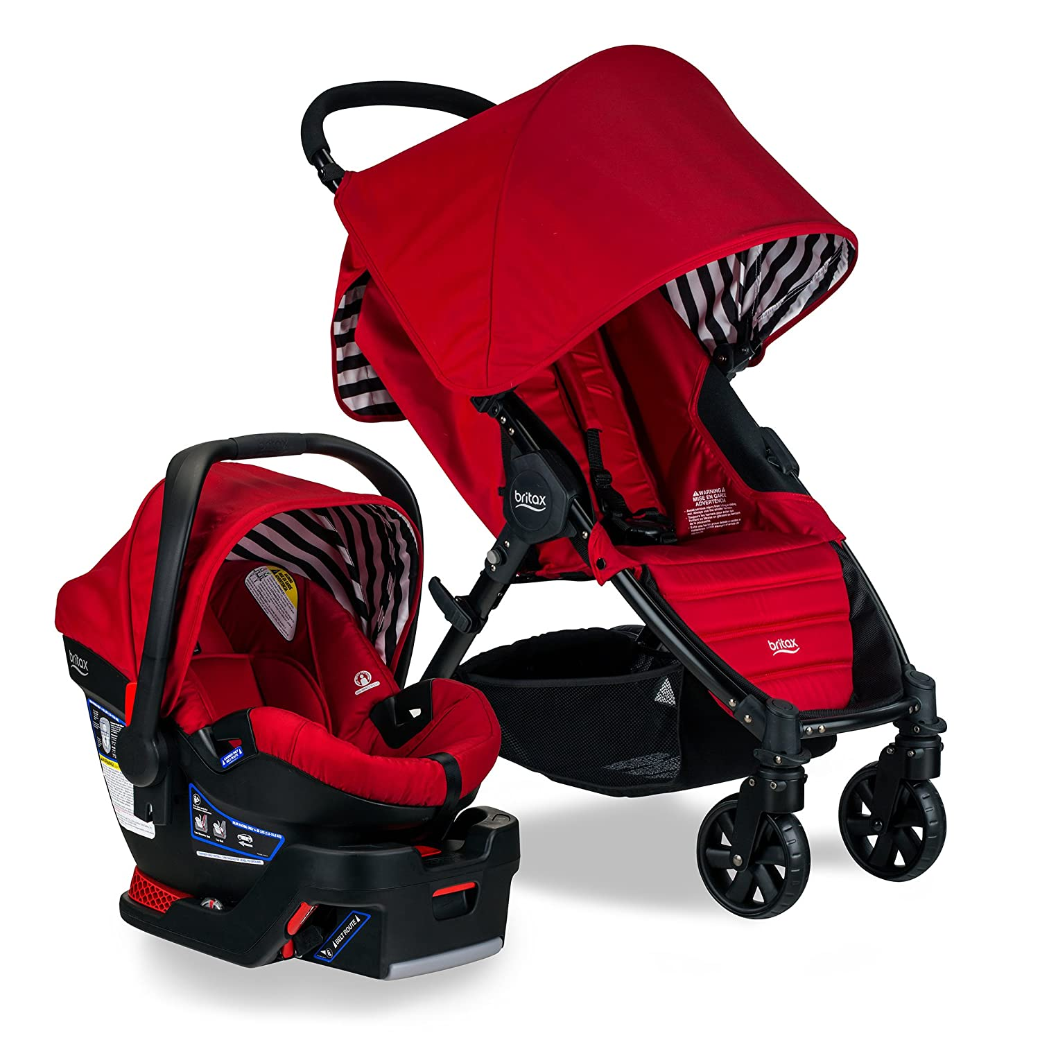 Britax Pathway B-Safe 35 Travel System, Cabana