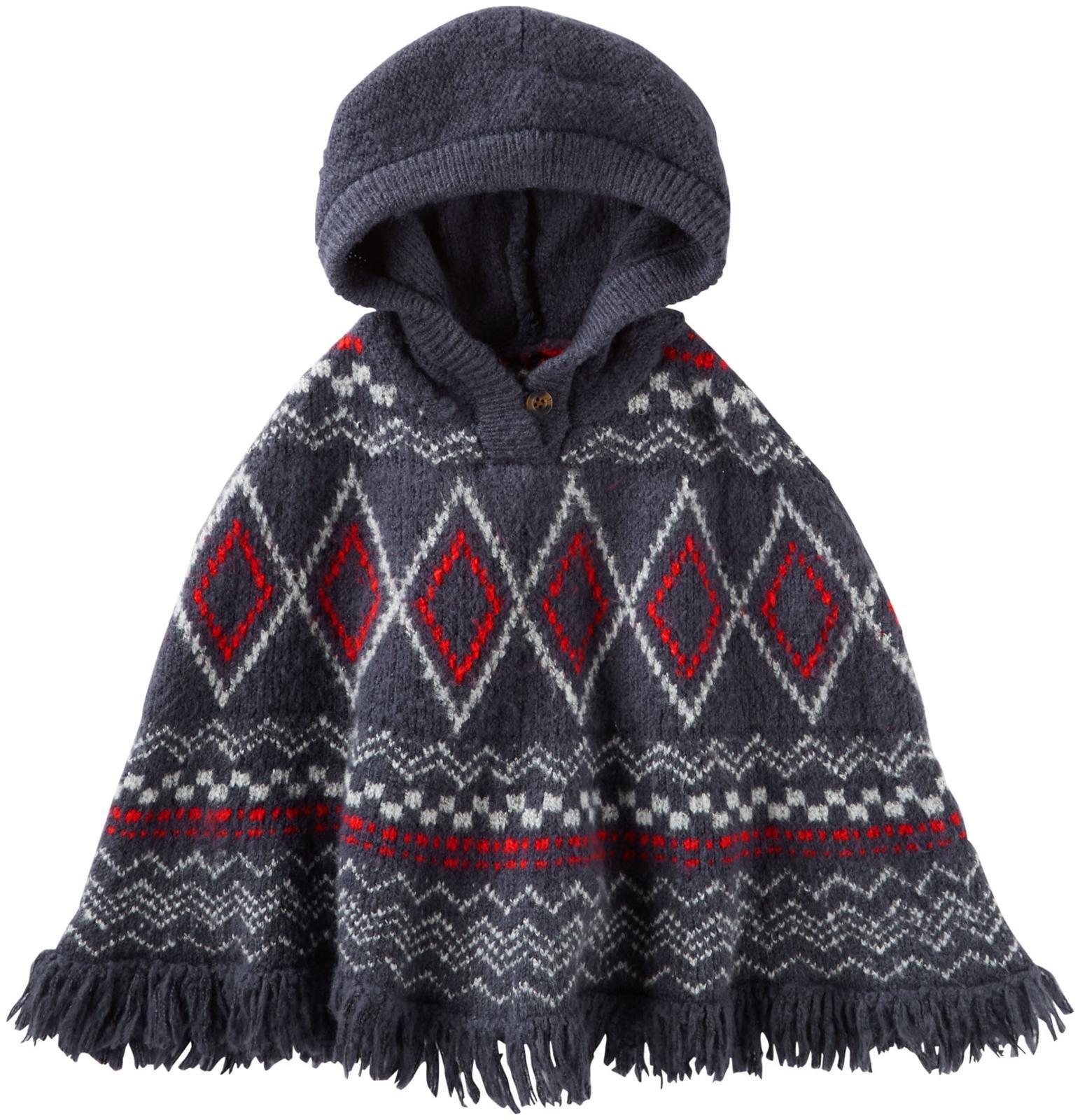 OshKosh B'Gosh Girls' Sweater 31458810, Print, 6X
