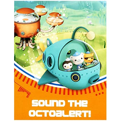 Amazoncom The Octonauts Party Supplies Invitations 8 Toys Games