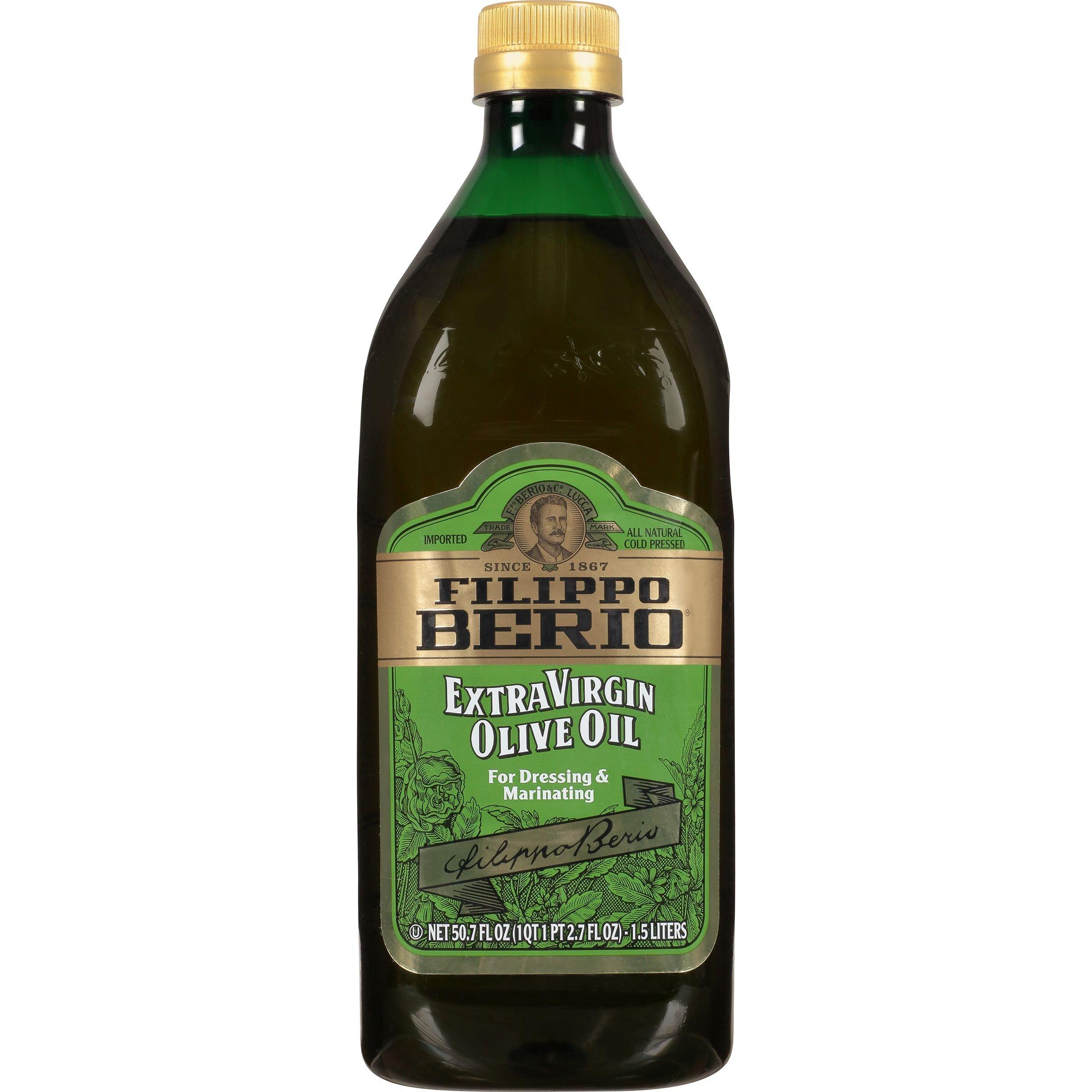Filippo Berio Extra Virgin Olive Oil, 50.7 Ounce by Filippo Berio