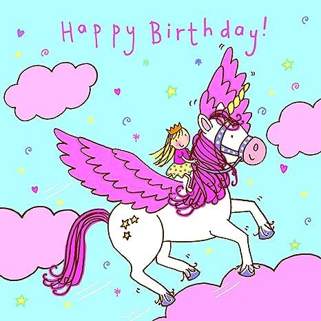 Twizler Tarjeta de felicitación de cumpleaños para niña ...