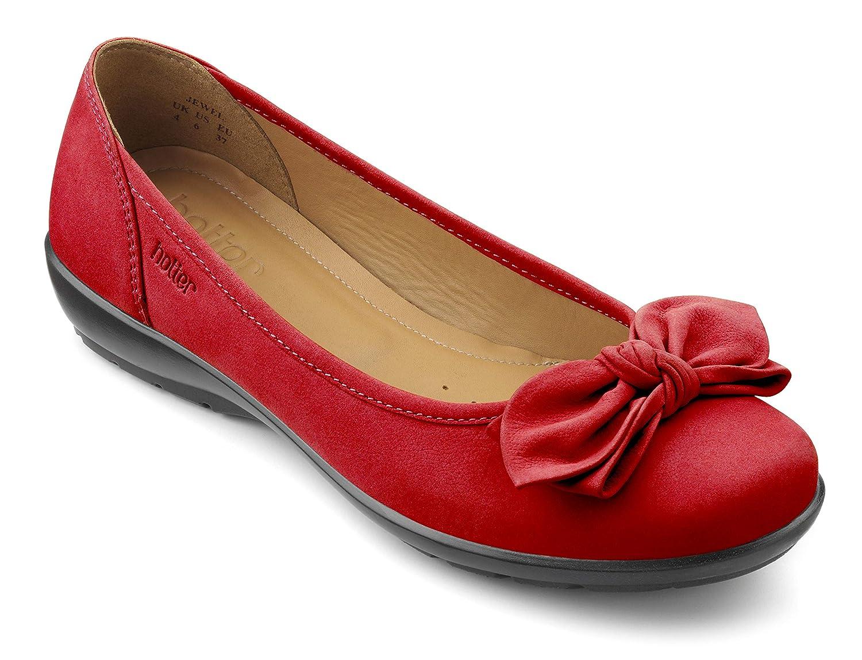 Hotter Ladies , Chaussures Noir Bateau pour Femme Noir Chaussures Noir 36.5 39.5 EU Red (Tango Red) c8b37d