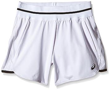 ASICS pantalón Corto de Punto Club Blanco Blanco Talla:Extra-Small: Amazon.es: Deportes y aire libre