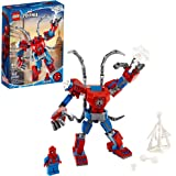 LEGO Marvel Spider-Man: Spider-Man Mech 76146 Kids' Superhero Building Toy, Playset with Mech and Minifigure, New 2020 (152 Pieces)
