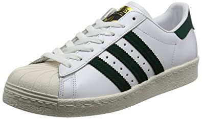 1f77830f92 Adidas - Basket Superstar 80s Bb2230 Blanc/Vert: Amazon.fr ...