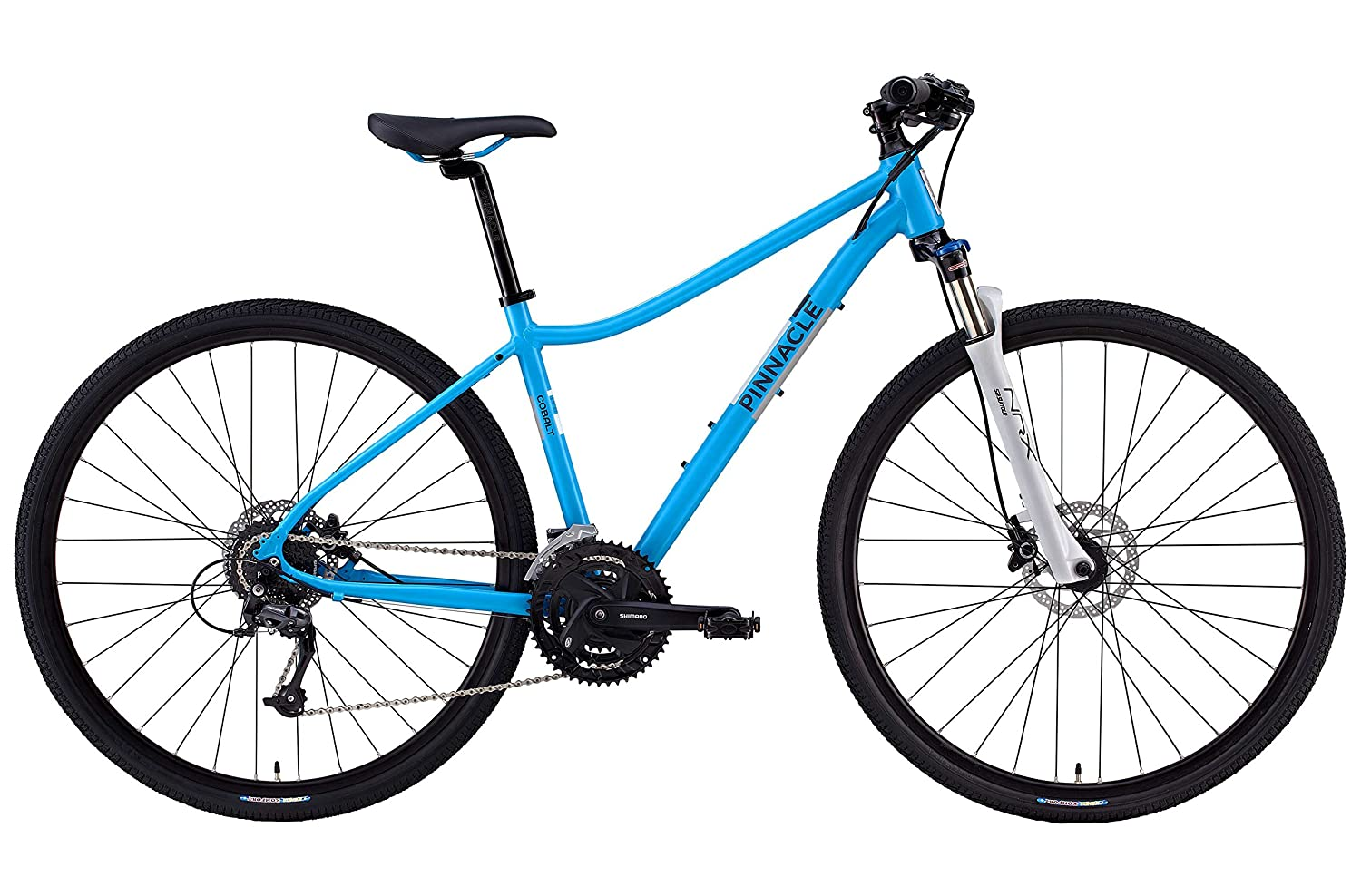 5943540ac80 Pinnacle Cobalt 3 Womens 2016 Hybrid Bike From Evans Cycles  Amazon.co.uk   Sports   Outdoors