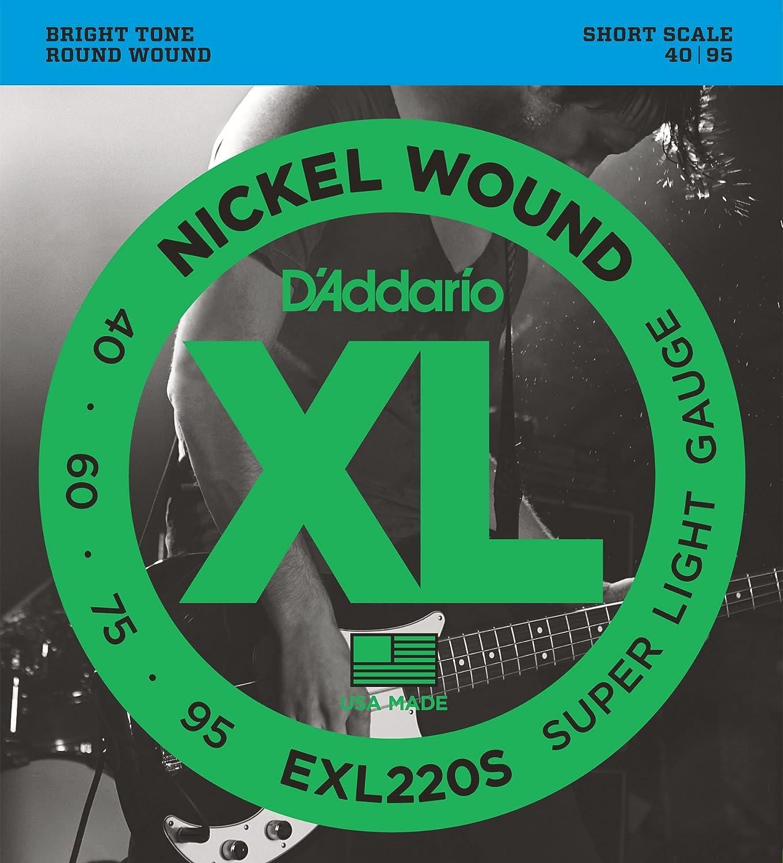 DAddario EXL220S Juego de Cuerdas, Plateado: Amazon.es: Instrumentos musicales