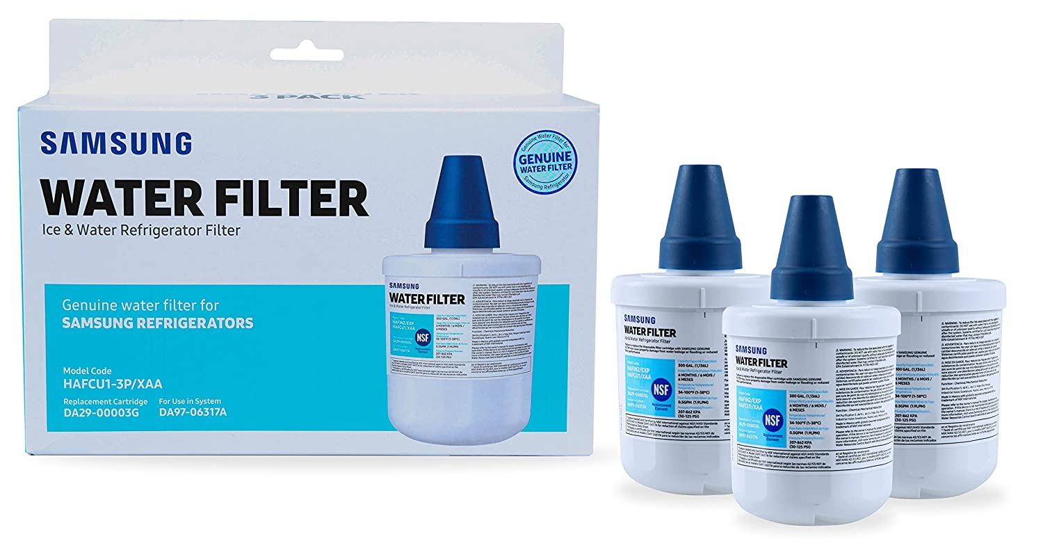 Samsung DA2900003G-3-KIT Replacement Water Filter, 3-Pack