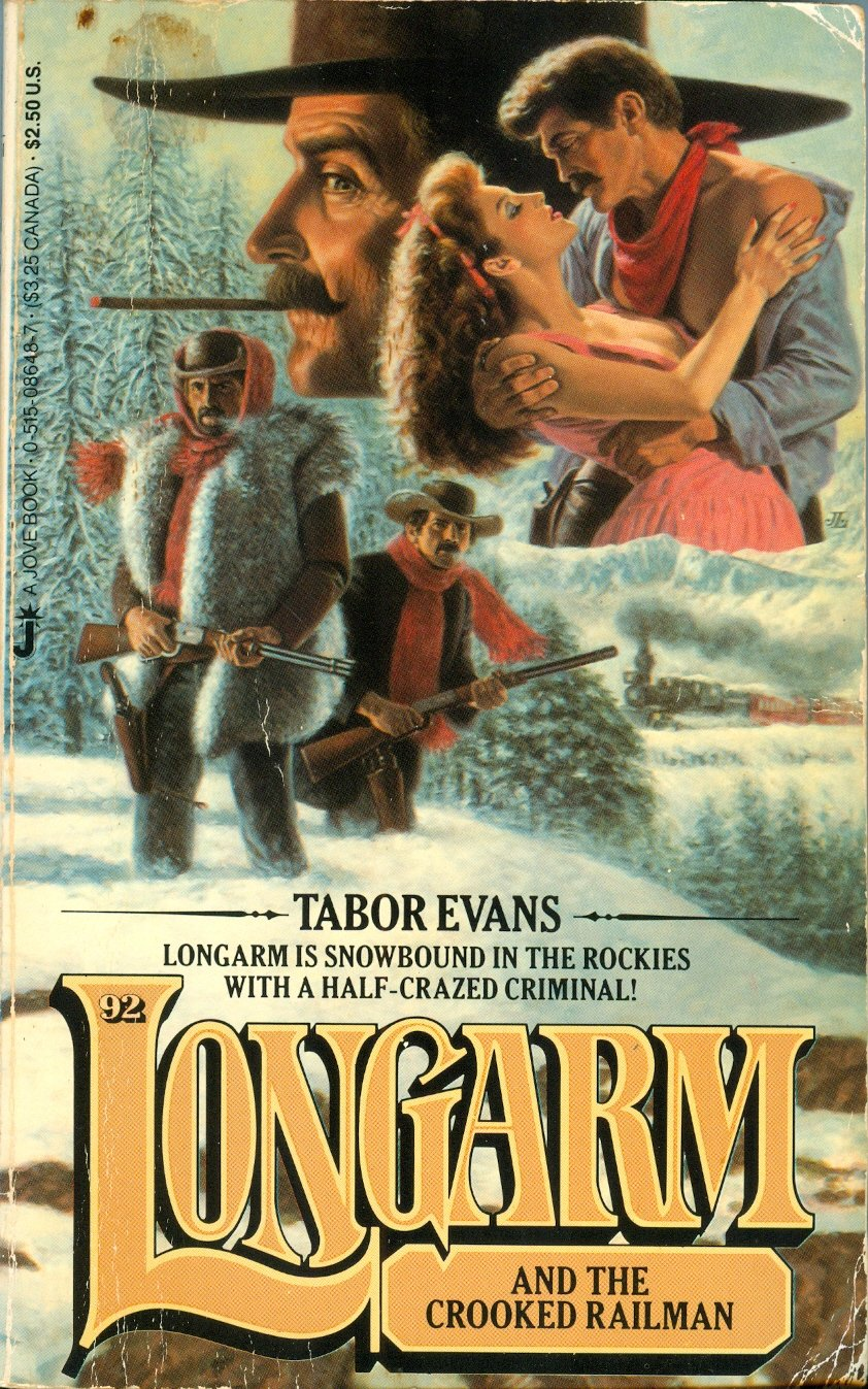 Image for Longarm and the Crooked Railman
