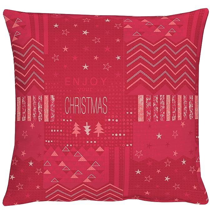 Apelt Kissenhulle Christmas Elegance Art 5200 Fb 30 Jaquard Ca