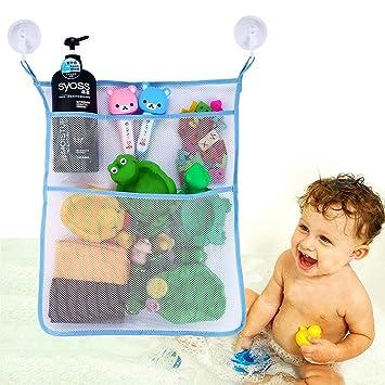 Bad Spielzeug Organizer Badezimmer Badewanne Aufbewahrung 3 Bonus