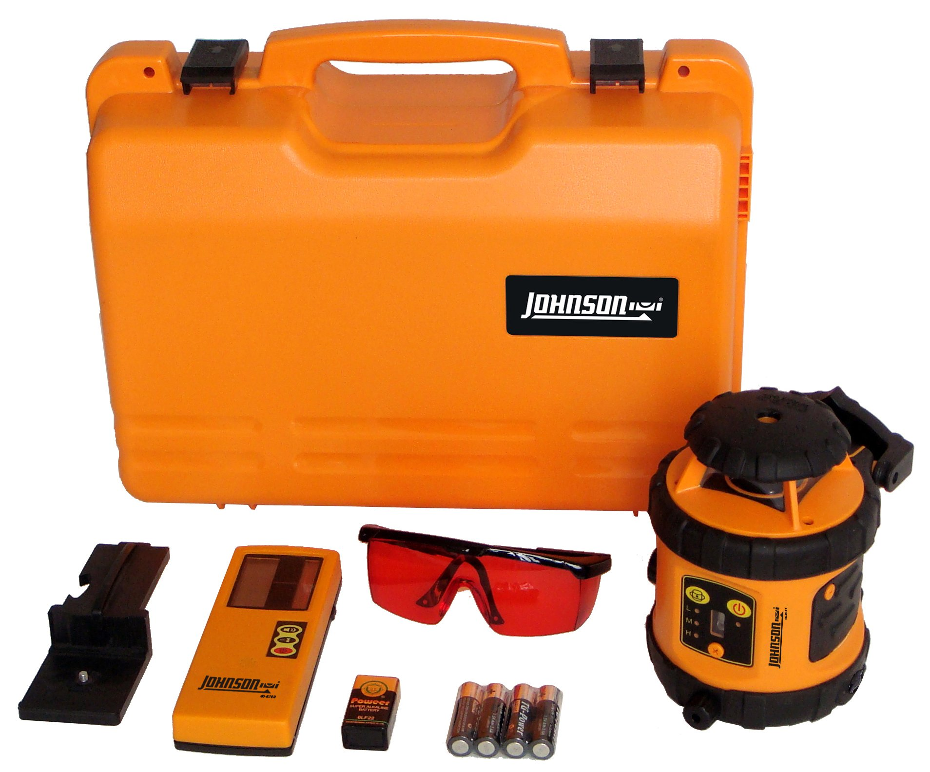 Johnson Level and Tool 40-6516 Self-Leveling Rotary Laser Level by Acculine