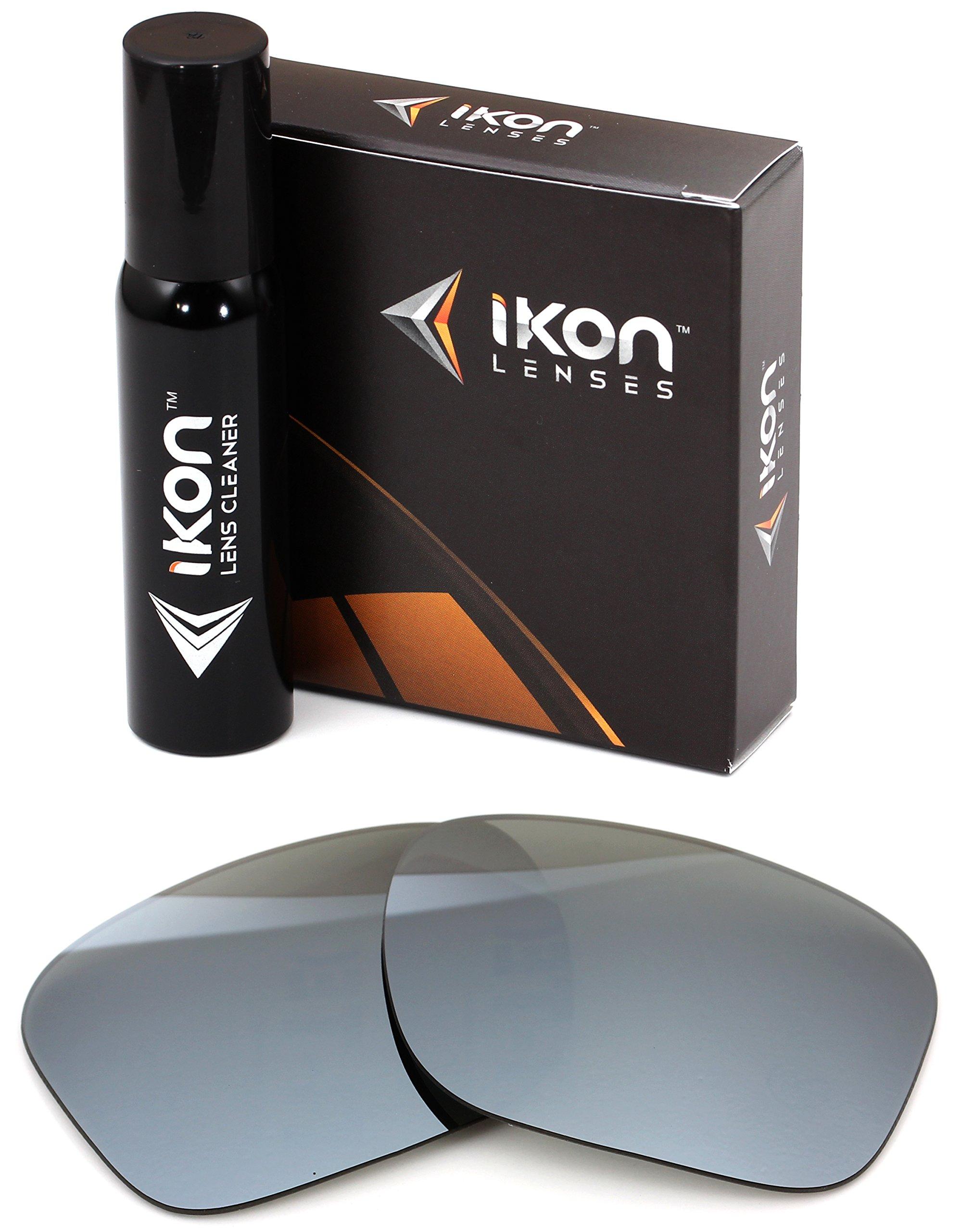 Polarized IKON Replacement Lenses for Von Zipper Lomax Sunglasses - Silver