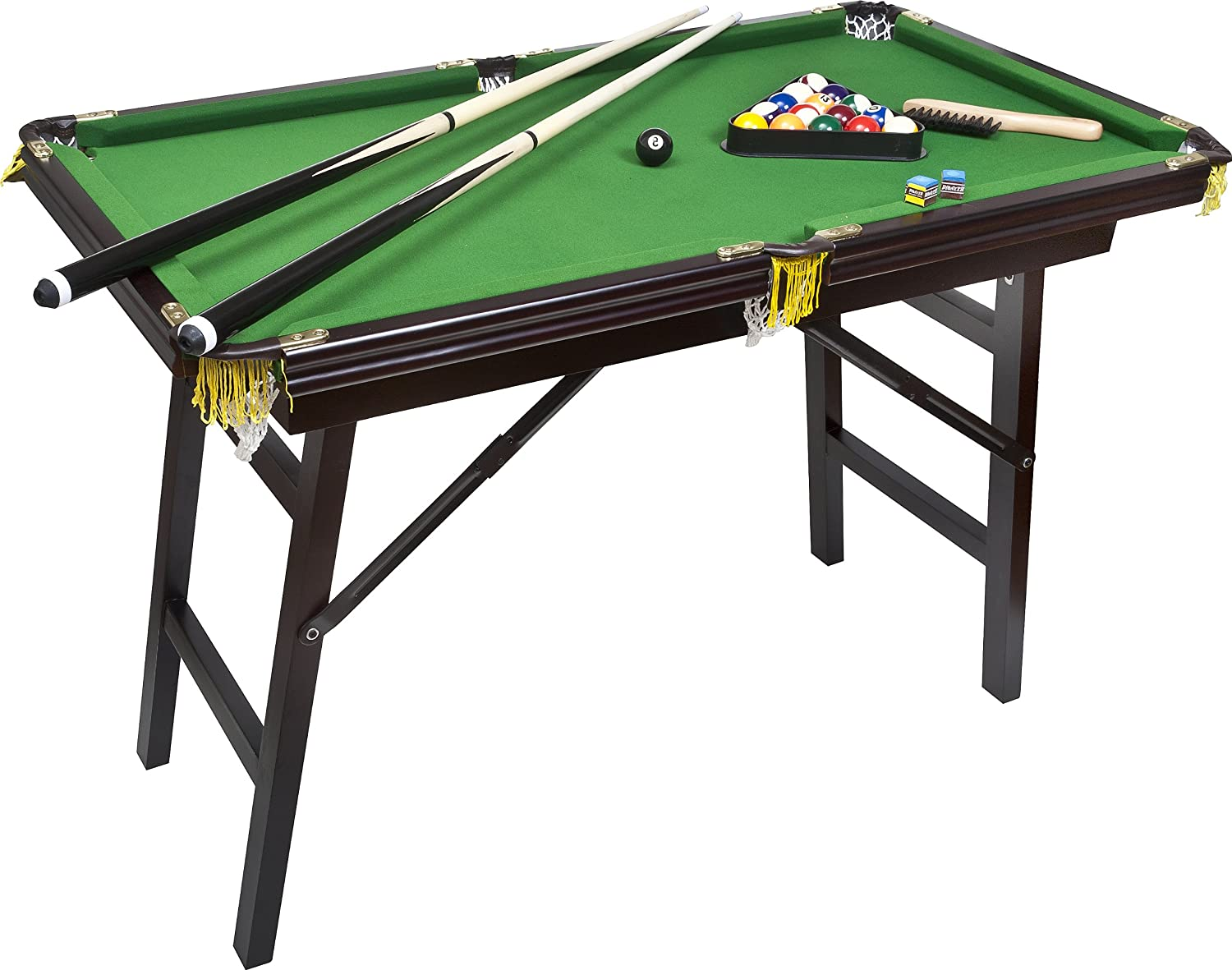 Folding legs pool table for sale - Amazon Com Bello Games New York Deluxe Folding Pool Table Extra Large 44 Sports Outdoors