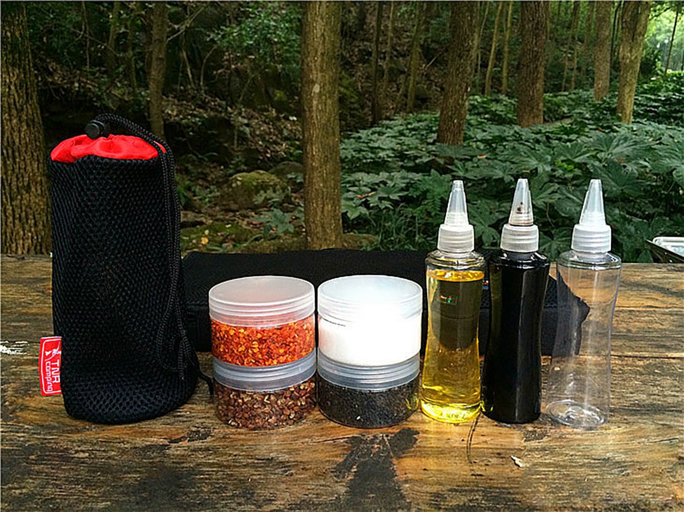 Minions Boutique Juego de recipientes de pl/ástico para Barbacoa y Salsa con Bolsa de Almacenamiento