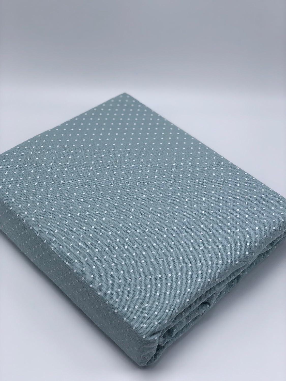 GT Heavyweight Flannel Flat Sheet Polka Dot Gappa