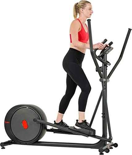 Sunny Health Fitness Carbon Pro Magnetic Elliptical