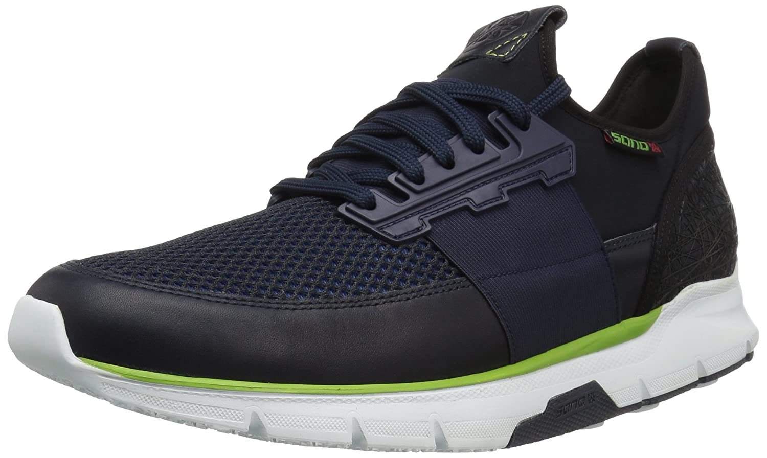Mephisto SANO by Men's Elvio Air Walking Shoe 11 D(M) US|Navy Polo/Stretch/Air